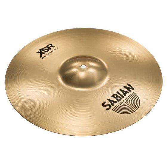 Sabian 16 Inch XSR Rock Crash Cymbal - XSR1609B, XSR1609B