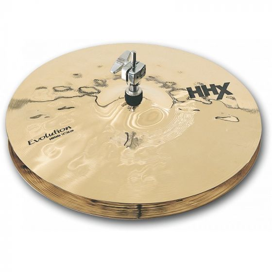 Sabian HHX Evolution Series Hi Hats 14 Inches - 11402XEB, 11402XEB