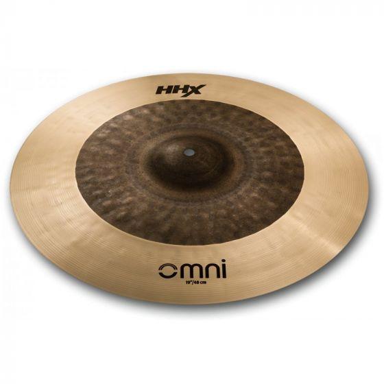 Sabian HHX OMNI Drum Set 19 Inch Ride Cymbal - 119OMX, 119OMX