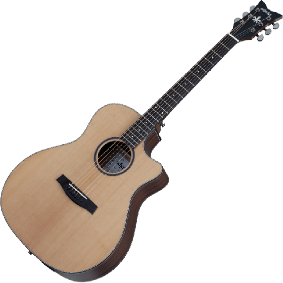 Schecter Orleans Studio Acoustic Guitar in Natural Satin Finish, 3712