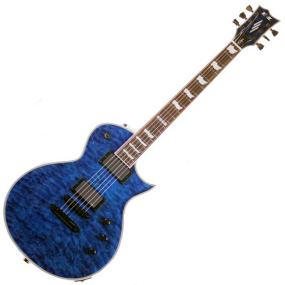 ESP E-II Eclipse QM MARBL Quilted Maple Electric Guitar, EIIECQMMARBL