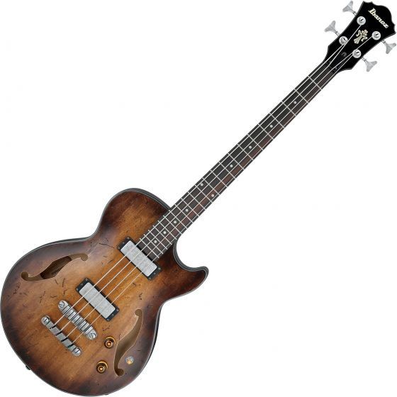 Ibanez Artcore Vintage AGBV200A Semi Hollow Electric Bass Tobacco Burst, AGBV200ATCL