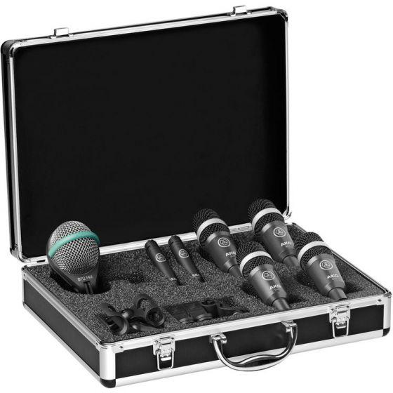 AKG Drum Set Concert I Professional Drum Microphone Set, 2581H00160