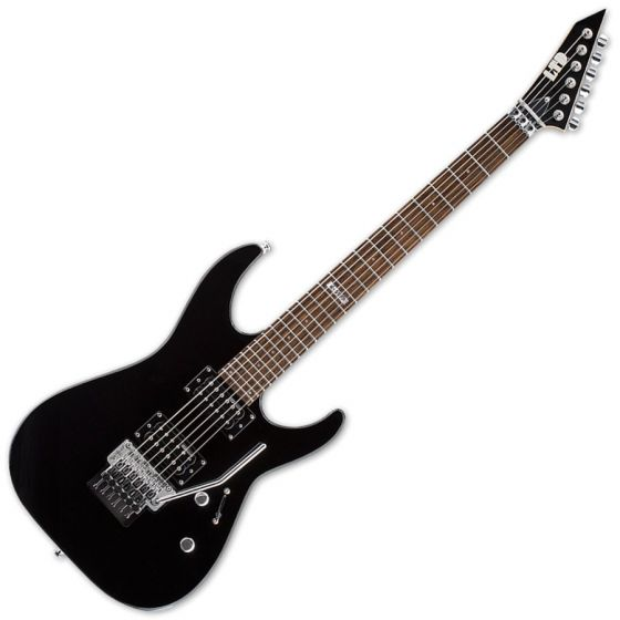 ESP LTD M-50FR M Series Electric Guitar in Black, M-50FR BLK