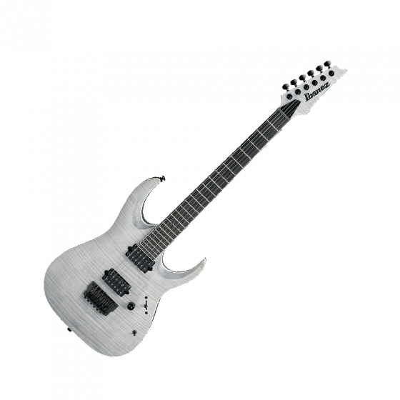 Ibanez RGAIX6FM -WFF Iron Label Series Electric Guitar in White Frost Flat, RGAIX6FMWFF