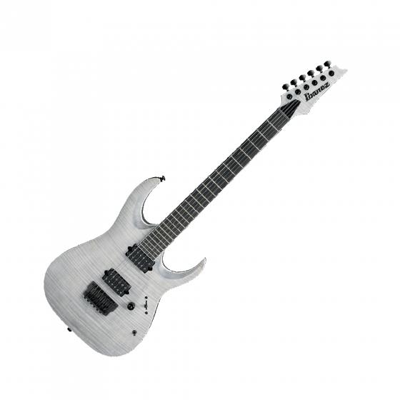Ibanez RGAIX6FM -WFF Iron Label Series Electric Guitar in White Frost Flat, RGAIX6FMWFF