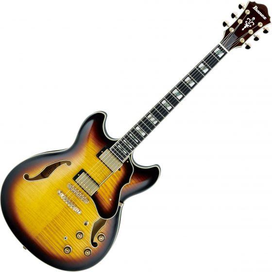 Ibanez Artstar AS153 Hollow Body Electric Guitar Antique Yellow Sunburst[, AS153AYS]
