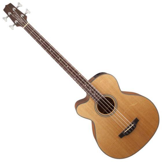 Takamine GB30CELH Left-Handed Acoustic Electric Bass in Natural B-Stock, TAKGB30CELHNAT
