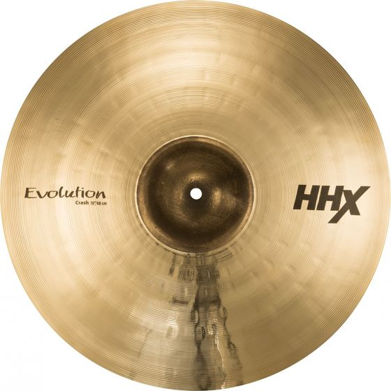 "Sabian 19"" HHX Evolution Crash Brilliant Finish, 11906XEB"