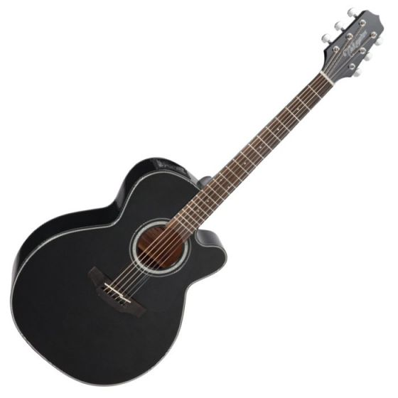 Takamine GN30CE-BLK Acoustic Electric Guitar Black B-Stock, TAKGN30CEBLK.B
