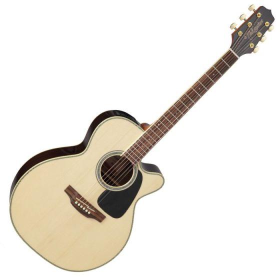 Takamine GN51CE-NAT Cutaway Acoustic Electric Guitar Natural B-Stock, TAKGN51CENAT.B