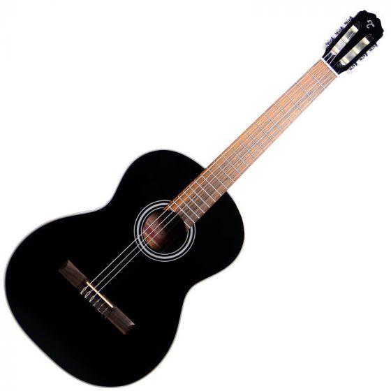 Takamine GC1CE-BLK Classical Acoustic Electric Guitar Gloss Black, TAKGC1CEBLK