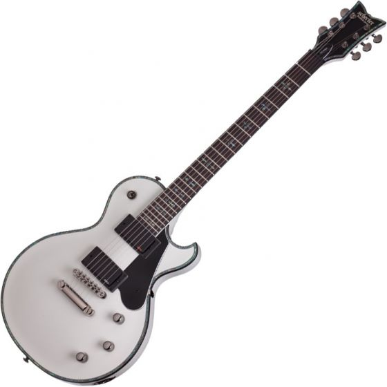 Schecter Solo-II Electric Guitar Gloss White, 1779