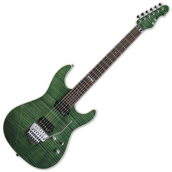 ESP E-II ST-2 FM RW EGR Emerald Green Finish Electric Guitar, EIIST2FMRWEGR