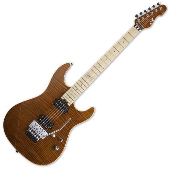 ESP E-II ST-2 FM TE Maple Fretboard Tiger Eye Finish Electric Guitar, EIIST2FMTE