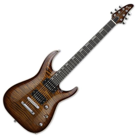 ESP Horizon NT CTM Electric Guitar in Antique Brown Sunburst, ESP HORIZON NT ABSB