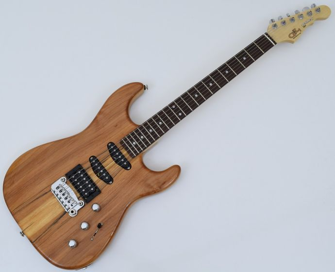 G&L USA Legacy Spalted Alder Top Electric Guitar in Natural Gloss Finish, USA LGCYRMC-NAT-RW 9334