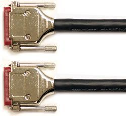 Mogami Gold AES DB25-DB25 Cable 15 ft., GOLD AES DB25-DB25-15