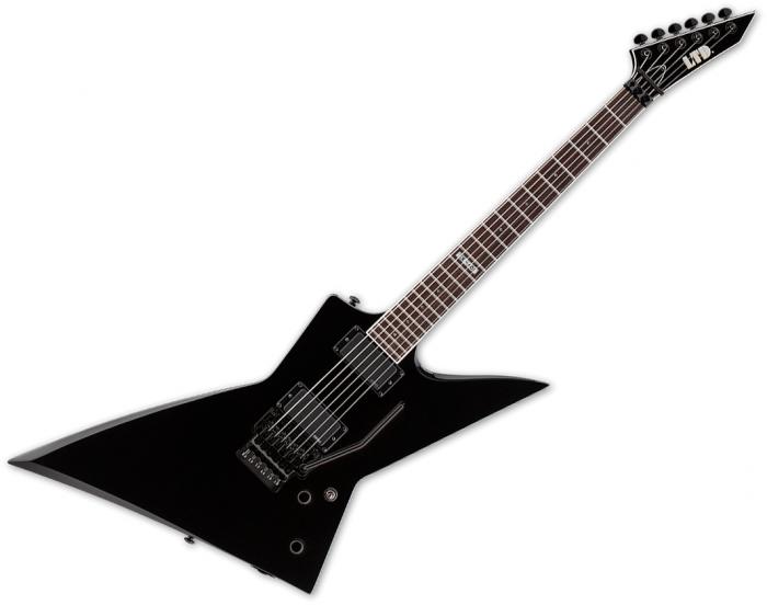 ESP LTD EX-401FR Electric Guitar Black, LEX401FRBLK