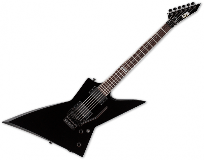 ESP LTD EX-401FR Electric Guitar Black B-Stock, LEX401FRBLK.B