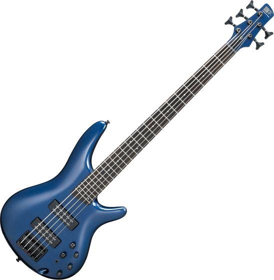 Ibanez SR Standard SR305EB 5 String Electric Bass Navy Metallic, SR305EBNM