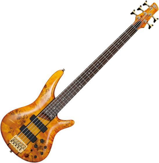 Ibanez SR Standard SR805 5 String Electric Bass Amber[, SR805AM]