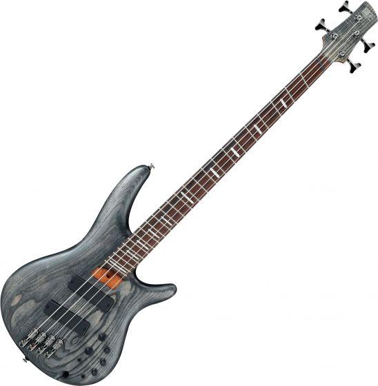 Ibanez SR Bass Workshop SRFF800 Multi Scale Electric Bass Black Stained, SRFF800BKS