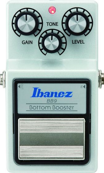 Ibanez BB9 Bottom Boost Pedal, BB9