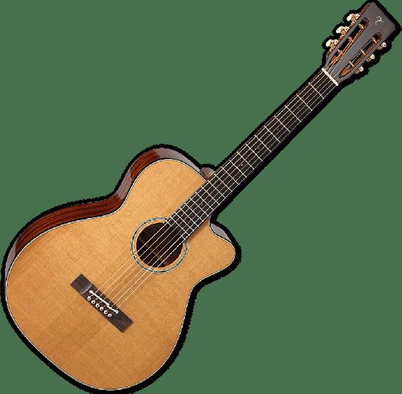 Takamine EF740FSTT Thermal Top Acoustic Guitar in Natural Finish, TAKEF740FSTT