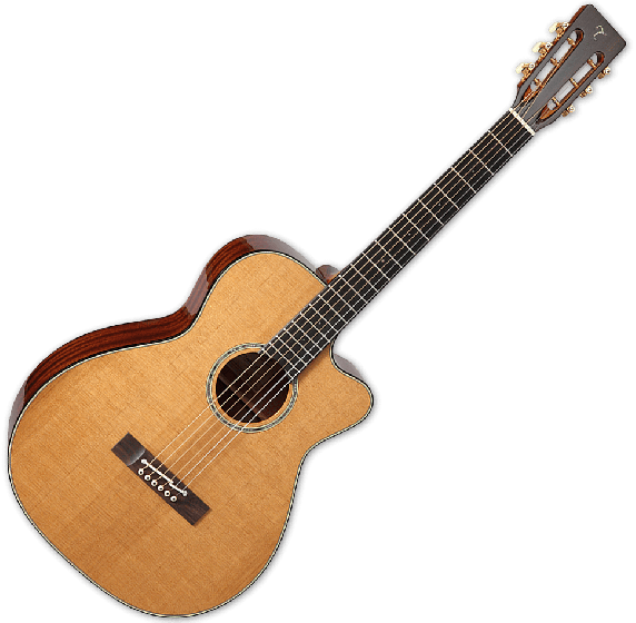 Takamine EF740FSTT Thermal Top Acoustic Guitar in Natural Finish B Stock, TAKEF740FSTT
