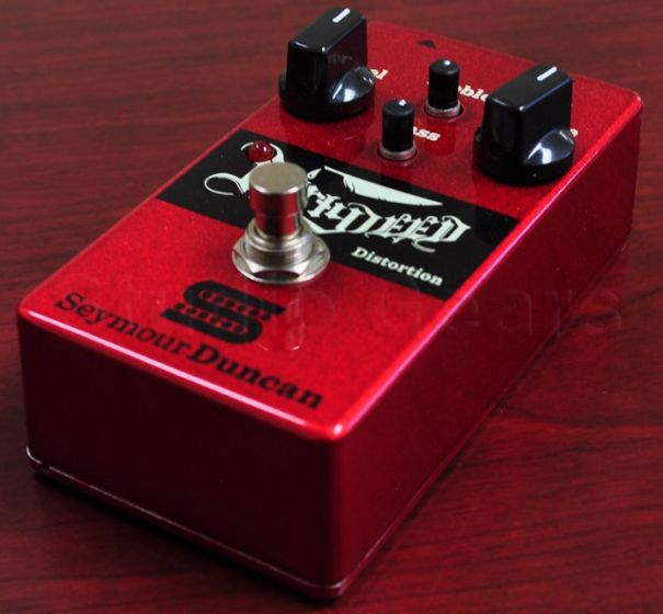 Seymour Duncan Dirty Deed Distortion/Overdrive Guitar Pedal, 11900-001