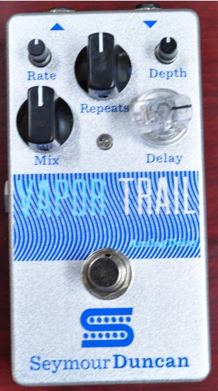 Seymour Duncan Vapor Trail Analog Delay Guitar Pedal, 11900-002