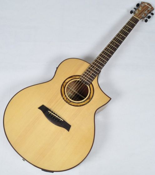 Ibanez AEW23ZW-NT AEW Series Acoustic Electric Guitar in Natural High Gloss Finish, AEW23ZWNT