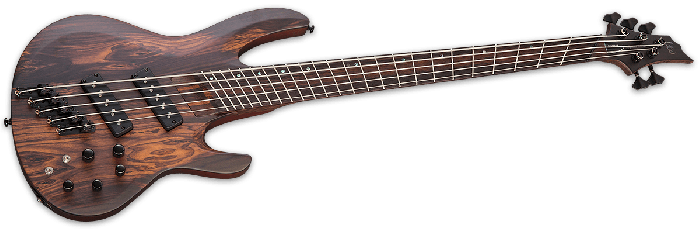 ESP LTD B-1005SE Multi Scale Electric Bass in Natural Satin B-Stock[, LTD B-1005SEMS NS]
