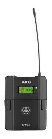 AKG DPT800 Digital Wireless Bodypack Transmitter, 3382H00101