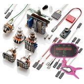 EMG 3 Pickup Conversion Wiring Kit PPP Push / Pull - Short Shaft w/ Free Guitar Tuner