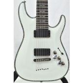 Schecter Hellraiser C-7 Electric Guitar Gloss White B-Stock 1495