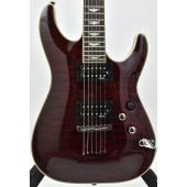 Schecter Omen Extreme-6 Electric Guitar Black Cherry B-Stock 0028