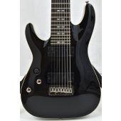 Schecter Omen-8 Left-Handed Electric Guitar Gloss Black B-Stock 1169