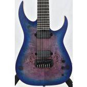 Schecter Keith Merrow KM-7 MK-III Artist Electric Guitar Blue Crimson B-Stock 0355