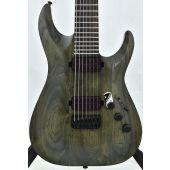 Schecter C-7 Apocalypse Electric Guitar Rusty Grey B-Stock 1550