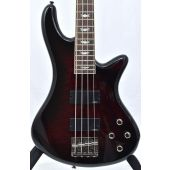 Schecter Stiletto Extreme-4 Electric Bass Black Cherry B-Stock 1549