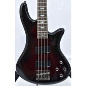 Schecter Stiletto Extreme-4 Electric Bass Black Cherry B-Stock 0364