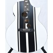 Schecter DJ Ashba Signature Acoustic Electric Guitar Satin White B-Stock 3641