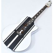 Schecter DJ Ashba Signature Acoustic Electric Guitar Satin White B-Stock 3624
