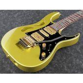Ibanez Steve Vai PIA 3761 Electric Guitar in Sun Dew Gold