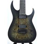Schecter KM-7 MK-III Keith Merrow Guitar Trans Black Burst B-Stock 1343