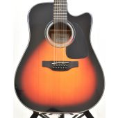 Takamine GD30CE-12BSB Dreadnought Acoustic Electric Guitar Brown Sunburst