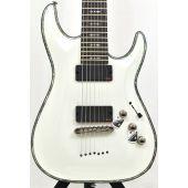 Schecter Hellraiser C-7 Electric Guitar Gloss White B-Stock 0461