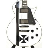 ESP LTD James Hetfield Iron Cross Electric Guitar Snow White B-Stock 0548